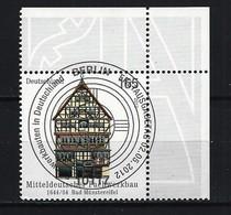 BUND Mi-Nr. 2931 Eckrandstück Rechts Oben Gestempelt - BRD