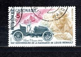 GABON  N° 383   OBLITERE  COTE 0.35€    RENAULT  VOITURE - Gabon (1960-...)