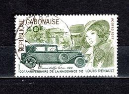 GABON  N° 386   OBLITERE  COTE 0.50€    RENAULT  VOITURE - Gabon (1960-...)