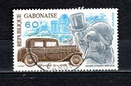 GABON  N° 393   OBLITERE  COTE 0.75€    CITROEN  VOITURE - Gabon (1960-...)