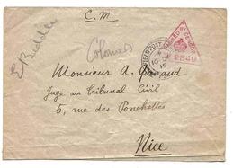 Grande Bretagne Great Britain Lettre Censurée Censored Cover WWI 1915 Censor 2849 - 1902-1951 (Rois)