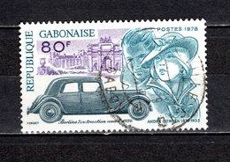 GABON  N° 394   OBLITERE  COTE 0.75€    CITROEN  VOITURE - Gabon (1960-...)