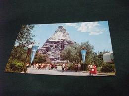 PICCOLO FORMATO DISNEYLAND THE MAGIC KINGDOM  MATTERHORN TOMORROWLAND - Disneyland
