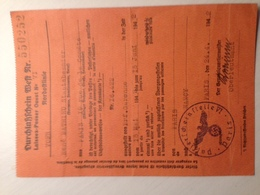 Ausweis Laissez Passer Ouest René Mathieu Staatsbeamter De Paris à Nancy Prefecture Garonne 1942 - 1939-45