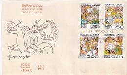 Sri Lanka Set On FDC - Sri Lanka (Ceilán) (1948-...)