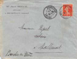 1913 BOURDEAUX – MALLEMORT 16-1038 - 1877-1920: Période Semi Moderne