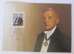 Maximumkarte, Geburtstag Otto Warburg Nobelpreisträger Mediziner  1983 ♥ (42923) - Medicine