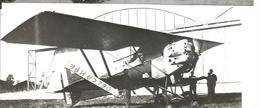PHOTO AVION POTEZ 25 A2 N°1483 A NANCY 1930   UN DES PREMIERS CONSTRUIT 17X7CM - Aviation