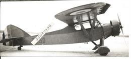 PHOTO AVION POTEZ T 230 ARCHIVE ECPA  17X7CM - Aviation