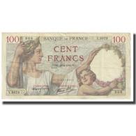 France, 100 Francs, Sully, 1940, P. Rousseau And R. Favre-Gilly, 1940-04-18 - 1871-1952 Anciens Francs Circulés Au XXème