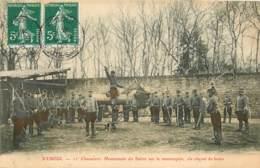 70 - VESOUL - 11ème CHASSEURS - MANIEMENT DU SABRE SUR LE MANNEQUIN - Vesoul