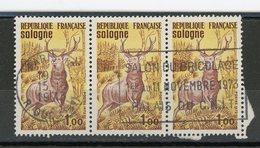 FRANCE - SOLOGNE - N° Yvert 1725 Obli.FLAMME + CàD ROND DE PARIS 1973 - France