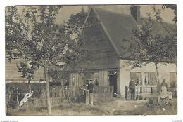 37 - MOSNES - Belle CPA-Photo Des Années 1900 - Cour De Ferme Et Personnages - Autres Communes