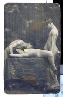 CP  RARE EDITION ITALIENNE ? EROTIQUE FEMININ  NU NUDE  PORNO DES ANNEES '20  Dim.:7,70x 12,70cm - Beauté Féminine D'autrefois < 1920