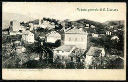 Z1900 SAN CIPRIANO (GE Genova) Val Polcevera, Veduta Generale, FP, Viaggiata 1907 Per Belgirate, Buone Condizioni (GC) - Genova (Genoa)