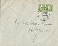 LETTRE 1942  AVEC CACHET FDC - 1913-47 (Christian X)