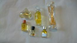 Miniature De Parfum Lot 6 Bouteilles Différentes Sans Boites 5 Bouteilles Sont  Pleines - Miniatures Femmes (avec Boite)