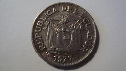 MONNAIE EQUATEUR 50 CENTAVOS 1977 - Ecuador