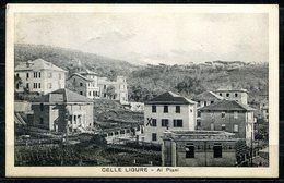 Z1898 CELLE LIGURE (SV Savona) Ai Piani, Panorama, FP, Viaggiata 1927 Per Ronco Briantino, Ottime Condizioni (GC) - Savona