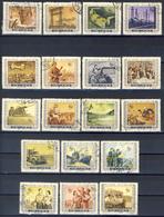 P.R.C. 1955 - Five Year Plan Complete Series Canceled - 1949 - ... Repubblica Popolare