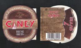 CUVEE DE CINEY - BRUNE  - CUVEE 7  - 25 CL - 7 % ALC.- 3 BIERETIKETTEN  (BE 647) - Bier