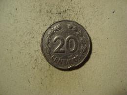 MONNAIE EQUATEUR 20 CENTAVOS 1959 - Ecuador