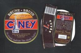 CUVEE DE CINEY - BRUNE  - CUVEE 7  - 25 CL - 7 % ALC.- 3 BIERETIKETTEN  (BE 707) - Bier