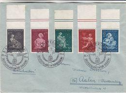 Pays Bas - Lettre Recom De 1944 - Oblit Amsterdam - Exp Vers Aalen - Cachet Deutschland Wird Siegen - Croix Gammée - Briefe U. Dokumente