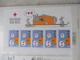 Feuille 3747 Belgique Bd Neuf ** Planche 2 Le Chat - Feuilles Complètes