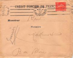 1927 PARIS – MALLEMORT 16-0991 - Postmark Collection (Covers)