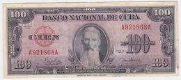 Cuba P 82 A - 100 Pesos 1950 - AUNC - Cuba