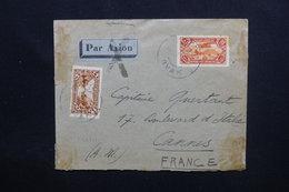 LIBAN - Enveloppe De Ryak Pour La France Par Avion En 1932, Affranchissement Plaisant  - L 48785 - Gran Líbano (1924-1945)