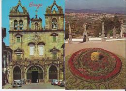 PORTUGAL - BRAGA. 2 CP La Cathédrale - Vue De Bom Jesus - Braga