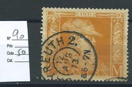 ALLEMAGNE - BAVIERE : N° 90. Cote 50€ - Bavaria
