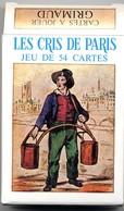 Les Cris De Paris  Jeux De 54 Cartes A Jouer Jeu - Joker Playing Cards - 54 Cartes