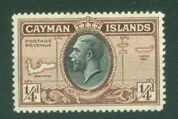 Cayman Islands: 1935   KGV - Pictorial   SG96   ¼d     MH - Cayman Islands