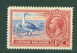 Cayman Islands: 1935   KGV - Pictorial   SG98   1d     MH - Cayman Islands