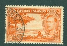Cayman Islands: 1938/48   KGVI   SG115   ¼d    [Perf: 12½]   Used - Cayman Islands