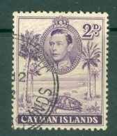 Cayman Islands: 1938/48   KGVI   SG119   2d   [Perf: 11½ X 13]   Used - Cayman Islands