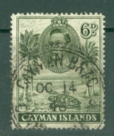 Cayman Islands: 1938/48   KGVI   SG122a   6d  [Perf: 14]   Used - Cayman Islands