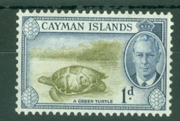 Cayman Islands: 1950   KGVI   SG137   1d   MNH - Cayman Islands