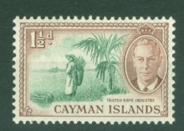 Cayman Islands: 1950   KGVI   SG138   1½d   MNH - Cayman Islands