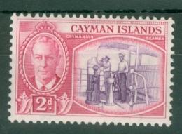 Cayman Islands: 1950   KGVI   SG139   2d   MNH - Cayman Islands