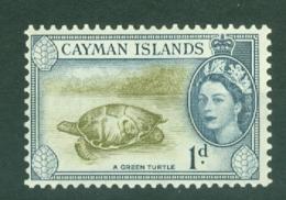 Cayman Islands: 1953/62   QE II - Pictorial   SG150   1d     MH - Cayman Islands