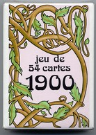 1900  Jeux De 54 Cartes A Jouer Jeu - Joker Playing Cards - 54 Kaarten