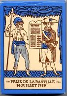 Prise De La Bastille 14 Juillet 1989 -  Jeux De 54 Cartes A Jouer Jeu - Joker Playing Cards - 54 Carte