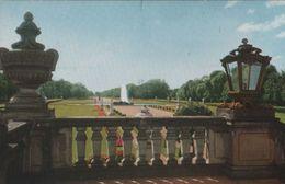 München - Terrasse Mit Garten In Nymphenburg - Ca. 1955 - Muenchen