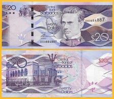 Barbados 20 Dollars P-76 2013 UNC Banknote - Barbados