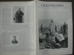 L'ILLUSTRATION 2914 CAPTURE SAMORY/ SAN STEFANO/ CRETE/ ADAM MICKIEWICZ  31 Décembre 1898 - Newspapers