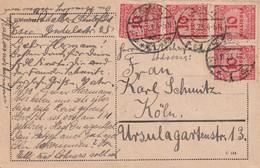 ALLEMAGNE 1923 CARTE DE ESSEN - Deutschland